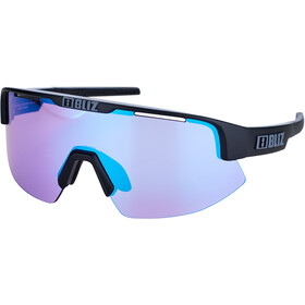 Bliz Matrix Small Nano Optics Nordic Light Glasses, matte black/violet/blue multi nordic light
